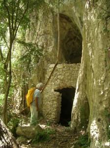 29 il n'y a pas que des grottes difficiles d'accès ici la bergerie n°7