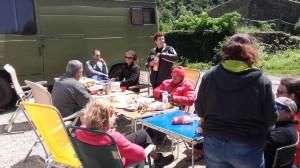 repas au camp